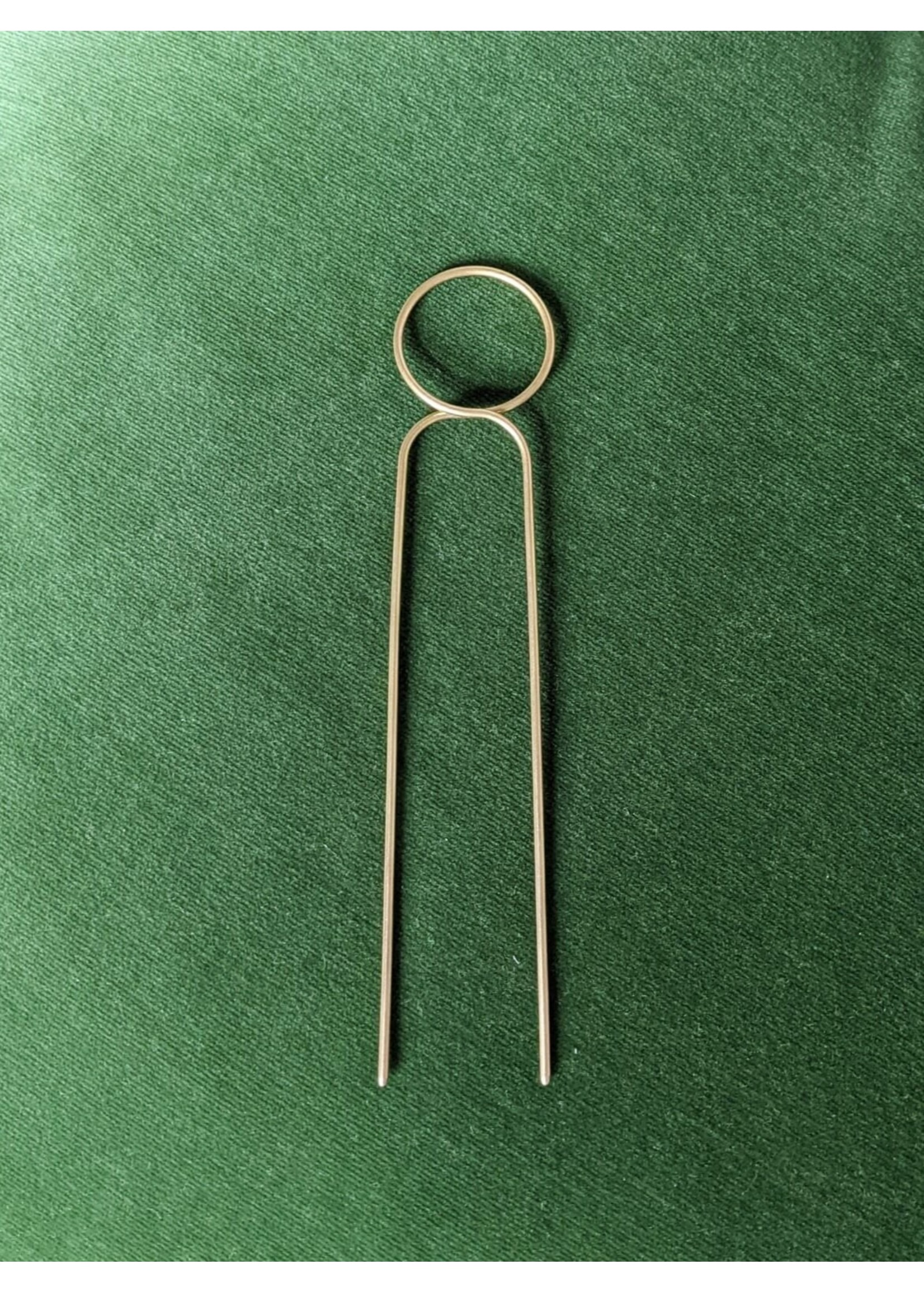 Roake Roake The 'Lizzy' Brass Hairpin - Loop