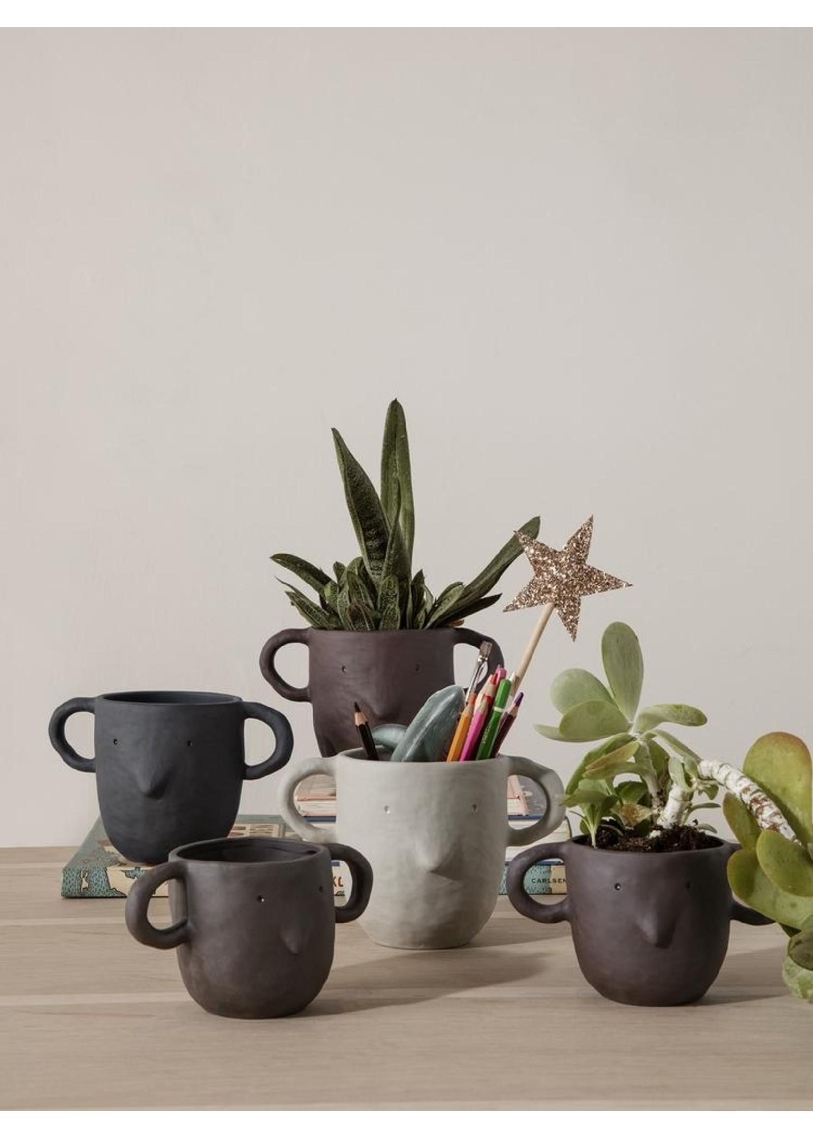 ferm LIVING ferm LIVING Mus Plant Pot - Sand- Large