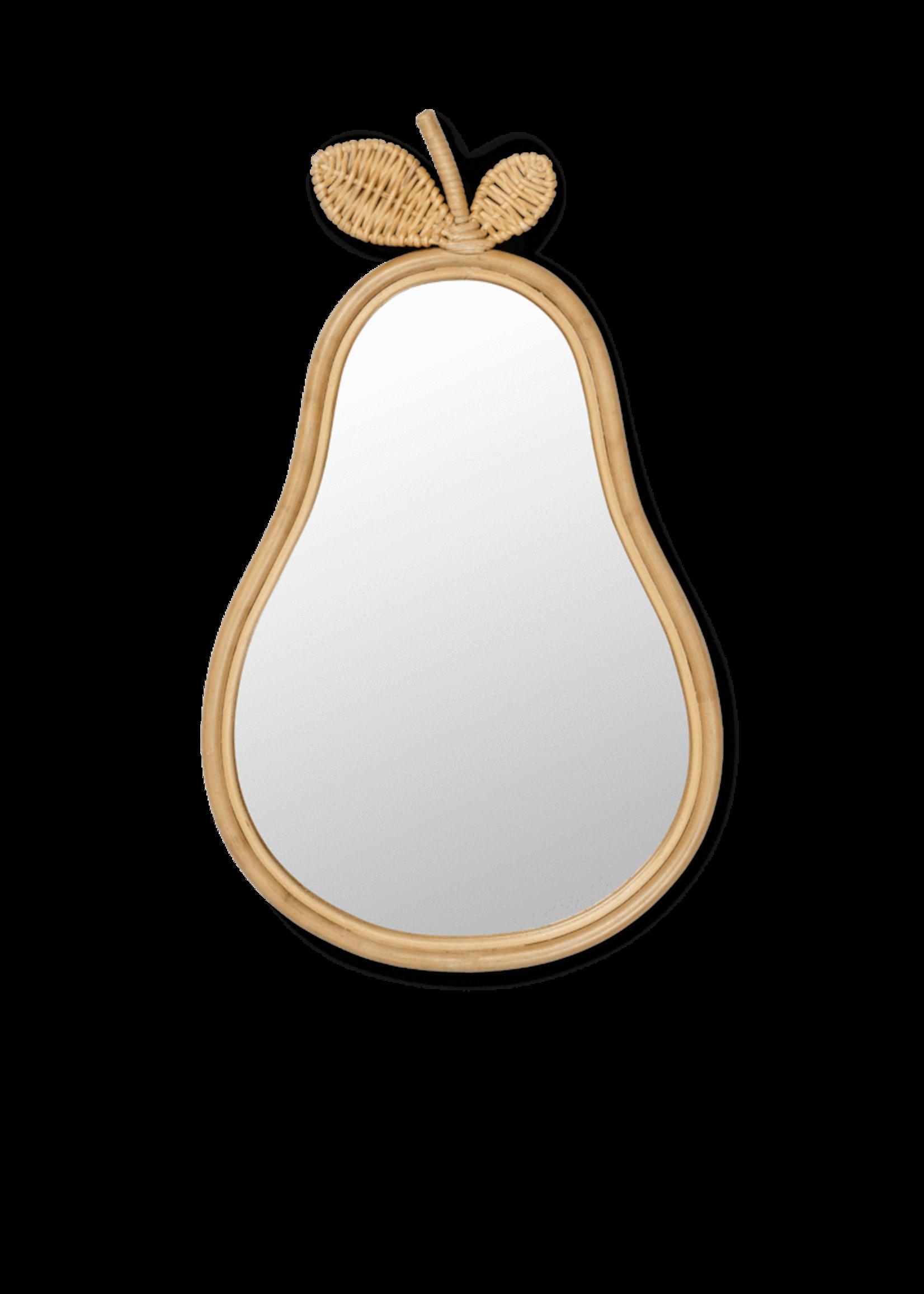 ferm LIVING ferm LIVING Pear Mirror - Natural