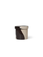 ferm LIVING Inlay Container - Small - Sand/Brown