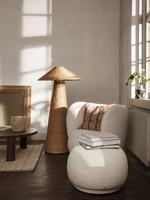 ferm LIVING Dou Floor Lamp - Natural