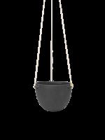 ferm LIVING Speckle Hanging Pot - Large - Dark Grey