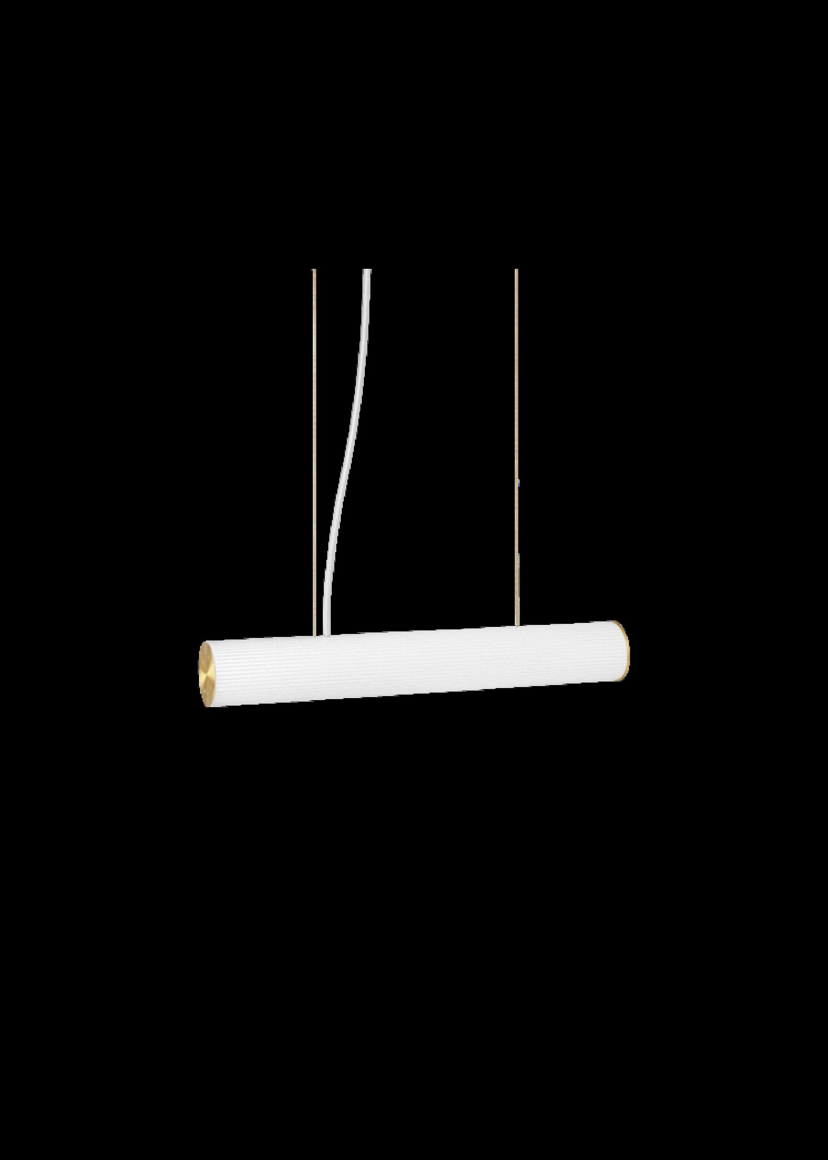 ferm LIVING ferm LIVING Vuelta Pendant 60-White/Brass
