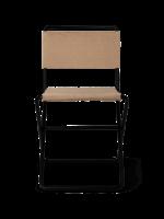 ferm LIVING Desert Dining Chair - Black/Sand