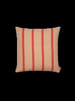 ferm LIVING Grand Cushion - Camel/Red
