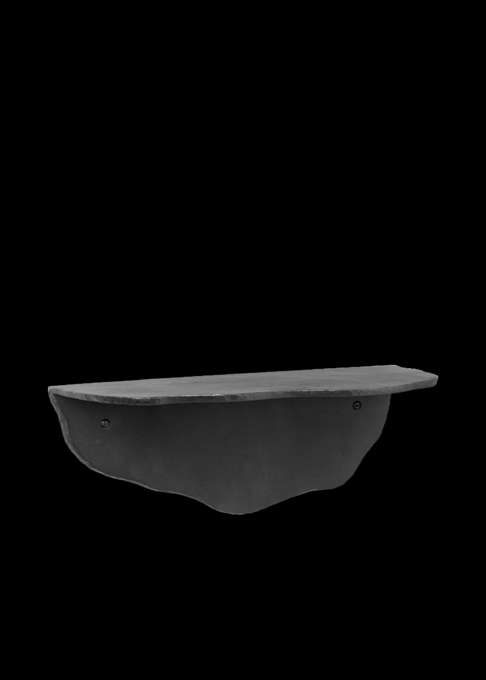 ferm LIVING ferm LIVING Fracture Shelf - Blackened Aluminium