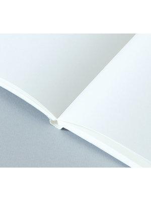 Ola Ola, Limited Edition Medium Layflat Notebook, Forest Green & Otti  Mustard / Plain Pages