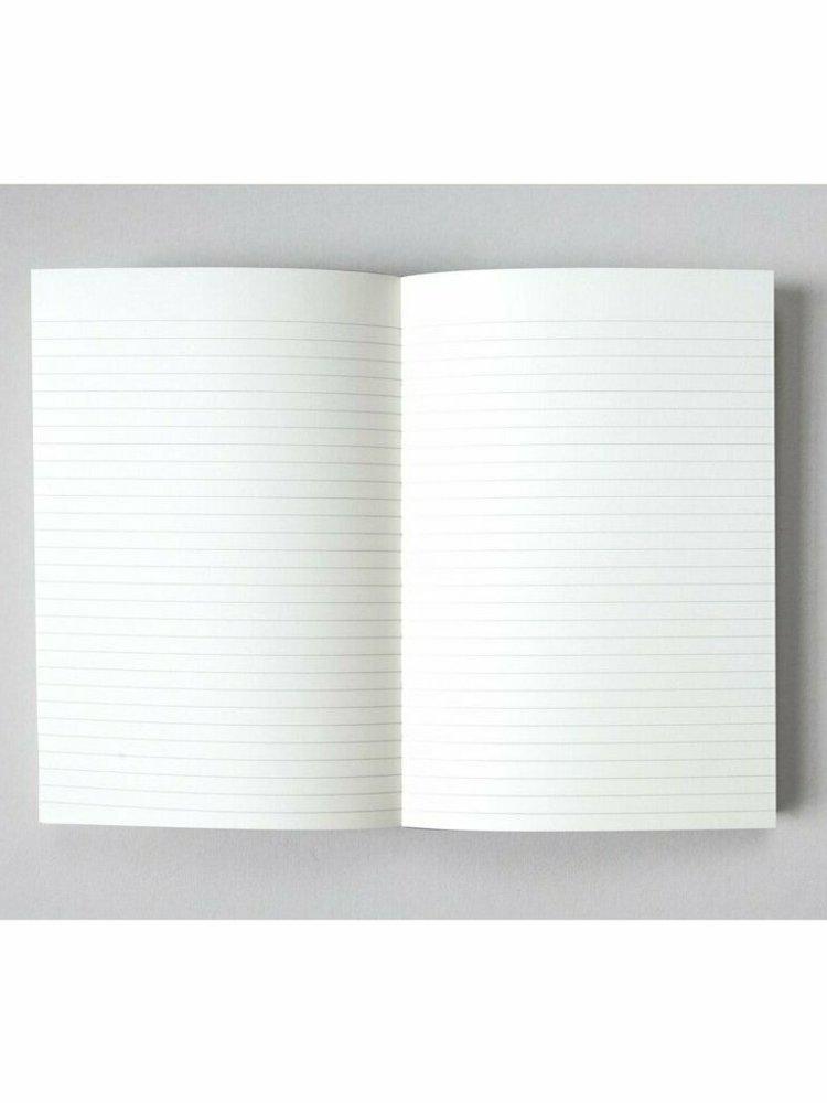 Ola Ola, Limited Edition Medium Layflat Notebook, Navy & Otti Rust  / Ruled Pages