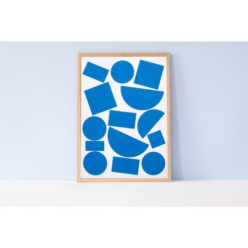 Ola Ola,  Limited Edition Blocks A3 Art Print