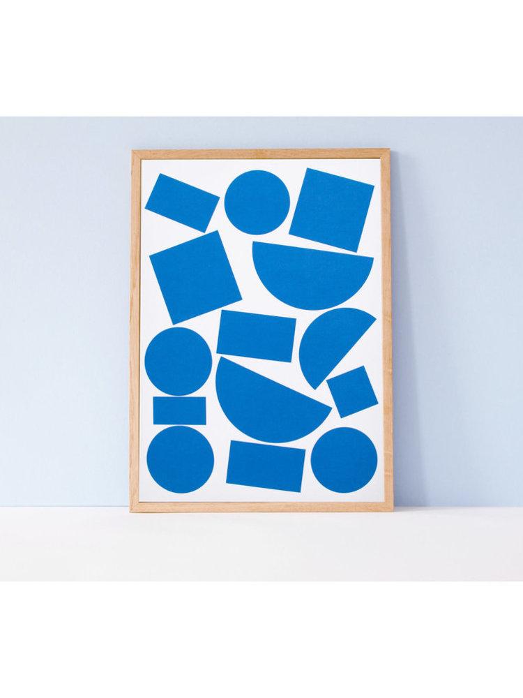Ola Ola, Celebrating Bauhaus -  Limited Edition Blocks A3 Art Print