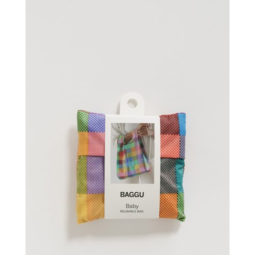 Baggu Baby Baggu Reusable Bag - Madras No. 2