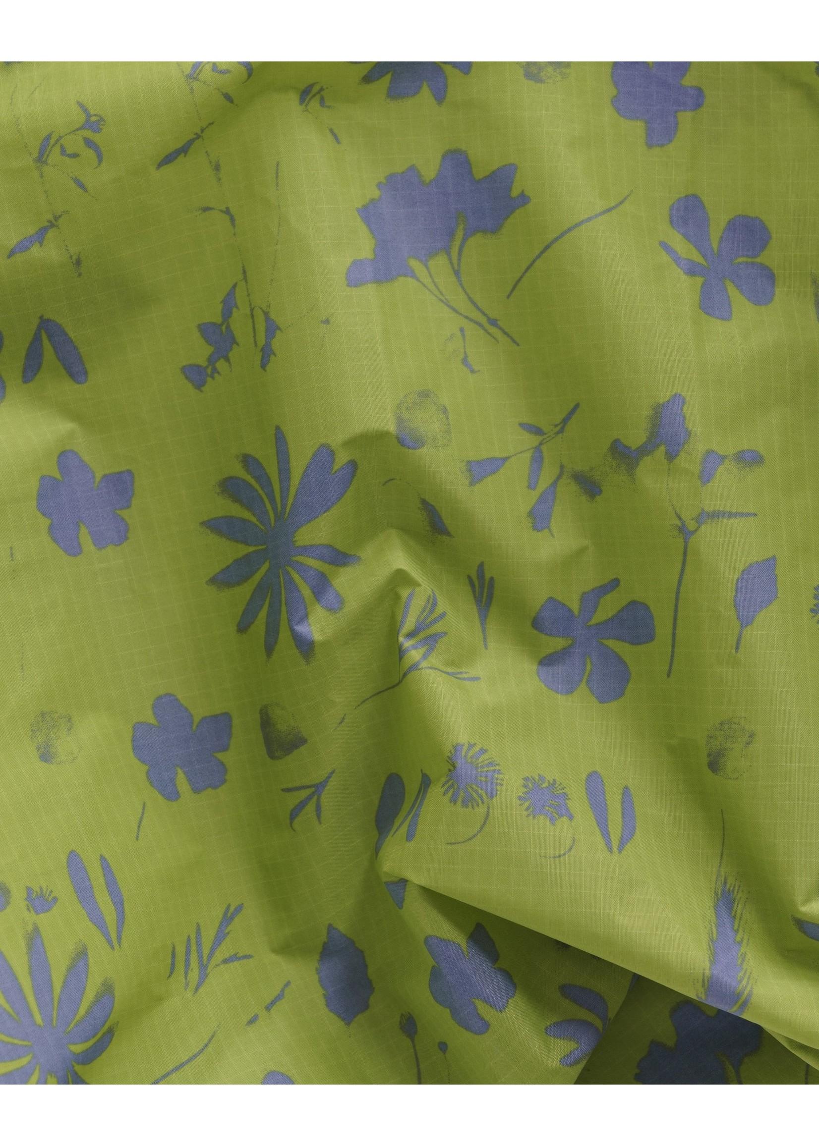 Baggu Baggu Standard Reusable Bag - Lime Floral Sun Print