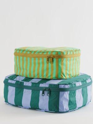 Baggu Storage Cube Set - Afternoon Stripes