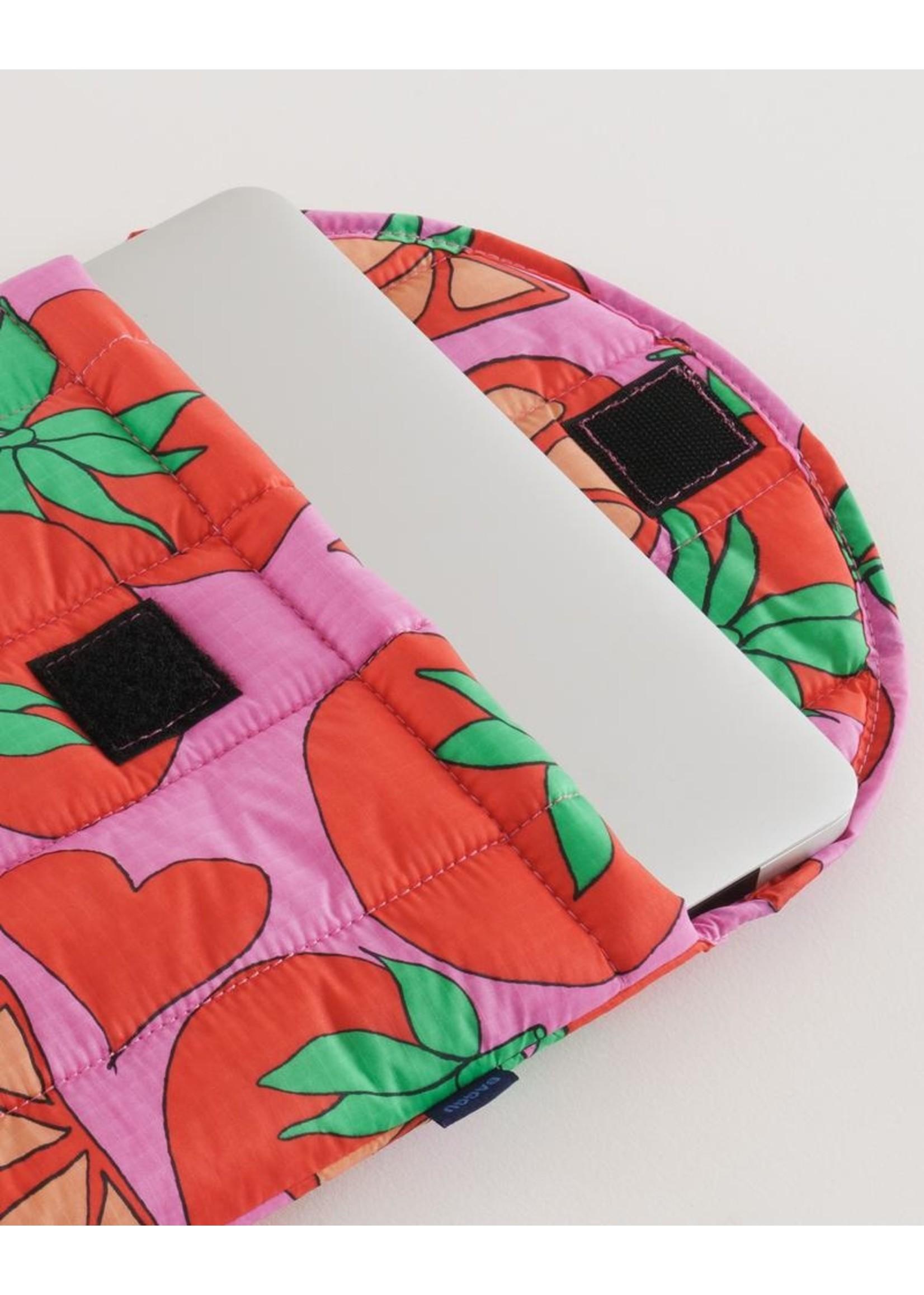 "Baggu Baggu Puffy Laptop Sleeve 13"" - Tomatoes"