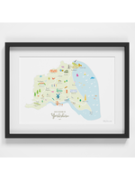 Holly Francesca Map of East Yorkshire A4