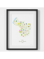 Holly Francesca Map of Greater Bristol A4
