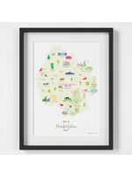 Holly Francesca Map of Herefordshire A4