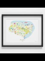 Holly Francesca Map of Kent A4