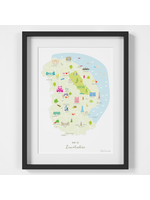 Holly Francesca Map of Lincolnshire A4