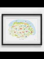 Holly Francesca Map of Norfolk A4