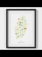 Holly Francesca Map of Nottinghamshire A4