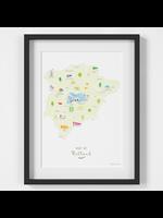 Holly Francesca Map of Rutland A4