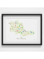 Holly Francesca Map of West Midlands A4