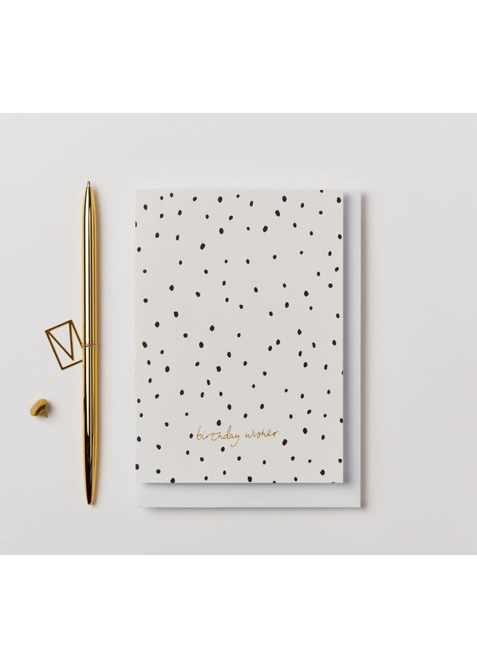 Kinshipped Kinshipped Dot Birthday Wishes Card