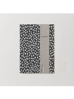 Kinshipped A5 Notebook - White Dash