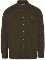 KnowledgeCotton ELDER Baby Cord Shirt - Forrest Night