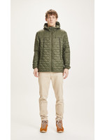 KnowledgeCotton Eco Active Thermore quilted jacket - Forrest Night