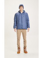 KnowledgeCotton Eco Active Thermore quilted jacket - Dark Denim