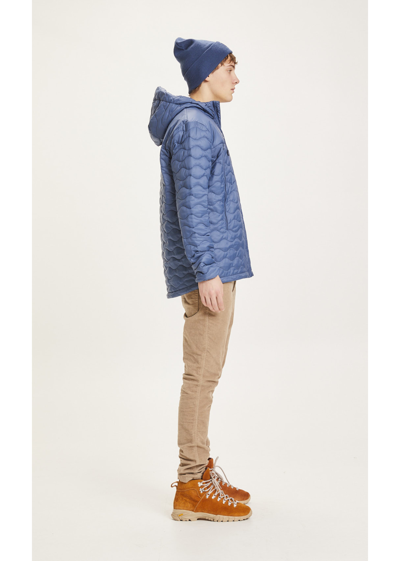 KnowledgeCotton KnowledgeCotton Eco Active Thermore quilted jacket - Dark Denim