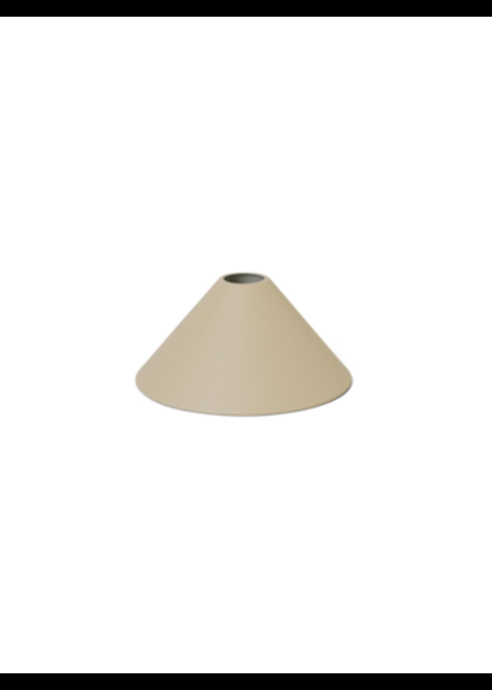 ferm LIVING ferm LIVING Lighting - Cone Shade - Cashmere