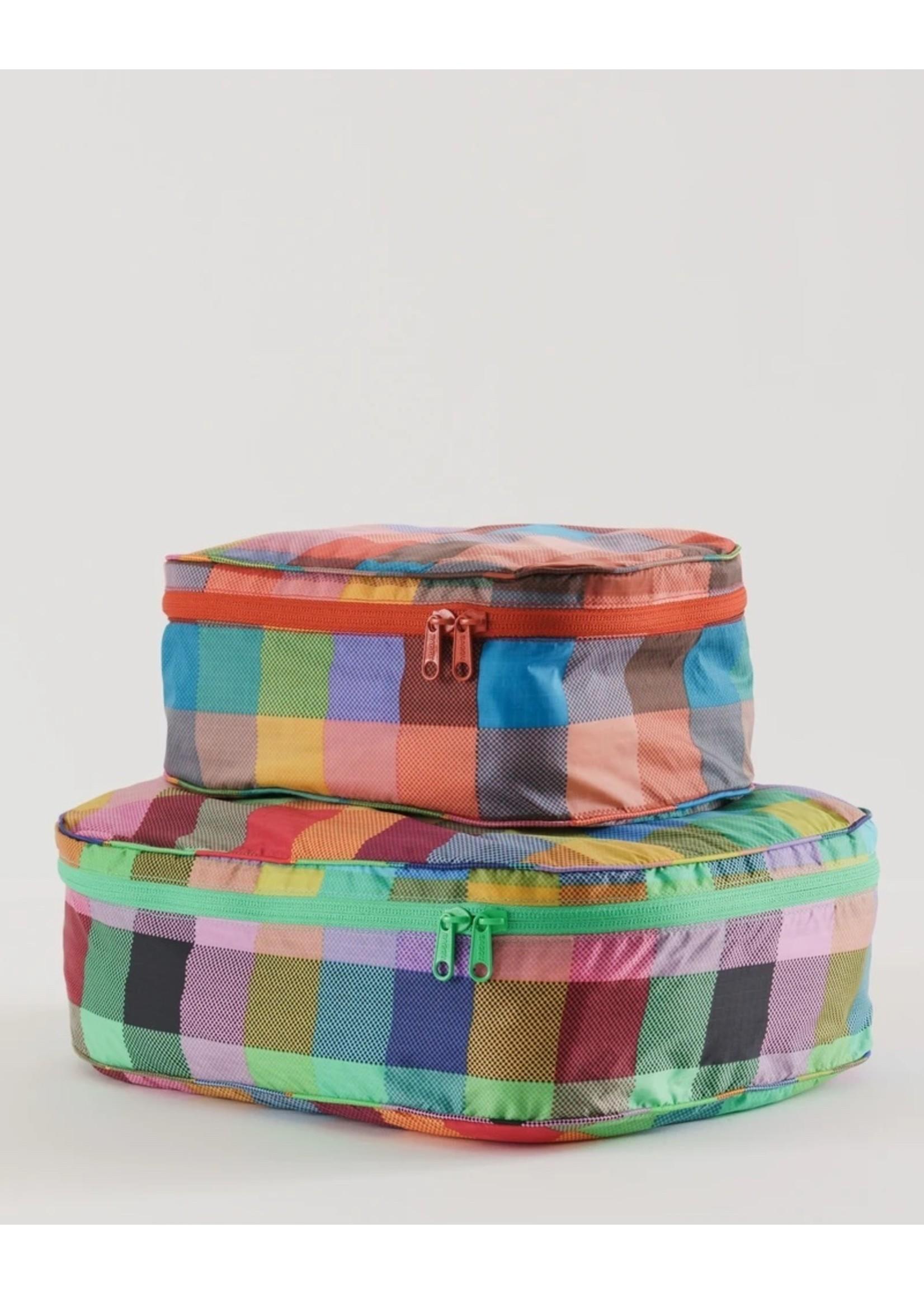 Baggu Baggu Storage Cube Set - Madras Mix