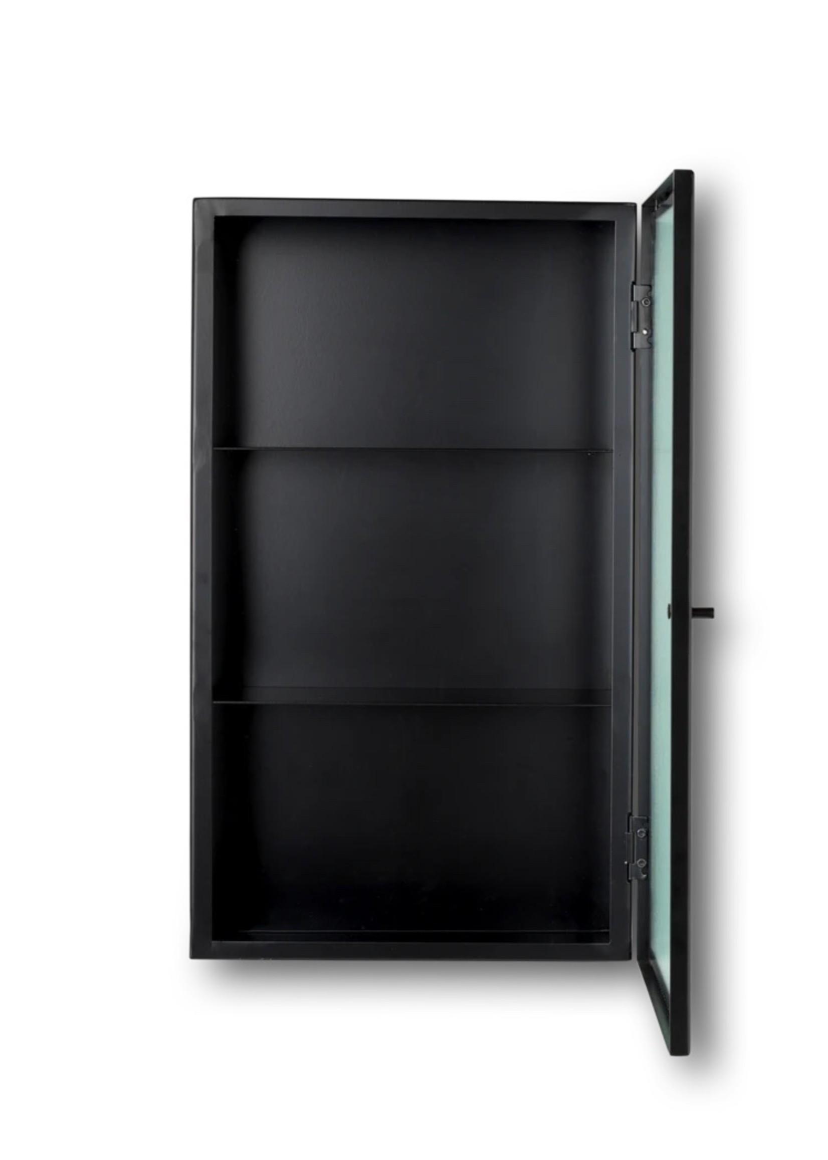 ferm LIVING ferm LIVING Haze Wall Cabinet - Reeded Glass