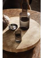 ferm LIVING Ripple Verrines - Set of 4 - Smoked Glass