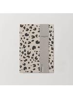 Kinshipped A5 Notebook - Beige Leopard