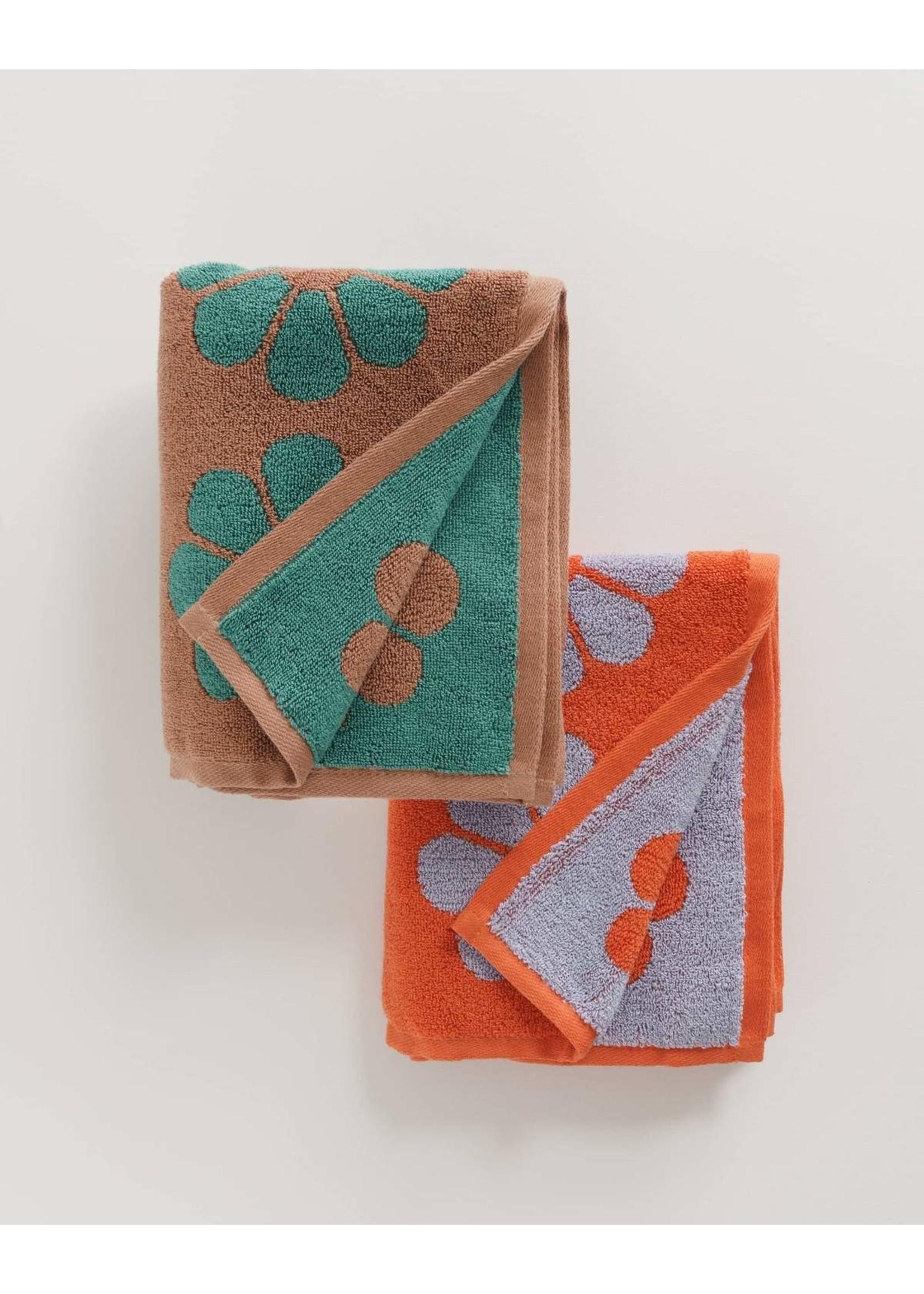 Baggu Baggu Hand Towel Set of 2 - Daisy Mix