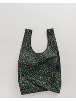 Baggu Standard Reusable Bag - Black Calico Floral