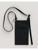 Baggu Nylon Wallet - Phone Sling - Black