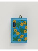 Baggu Nylon Wallet - Blue Calico Floral