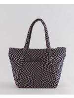 Baggu Cloud Bag - Indigo Trippy Checker