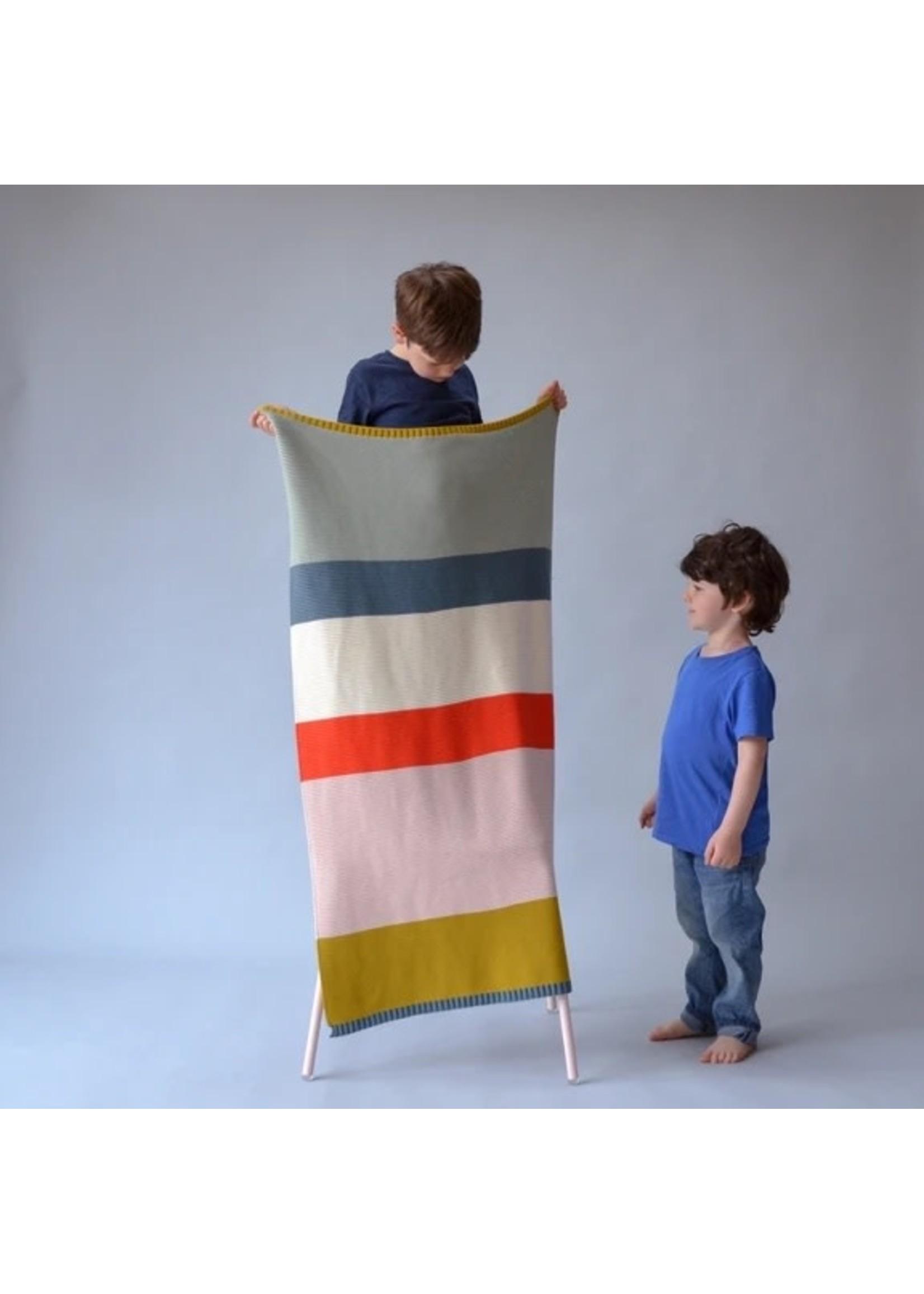Sophie Home Sophie Home Bright Striped Blanket
