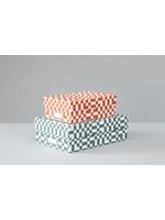 Ola Set of 2 Archive Boxes - Otti print