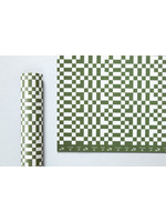 Ola Patterned Papers: Otti print in Olive Green