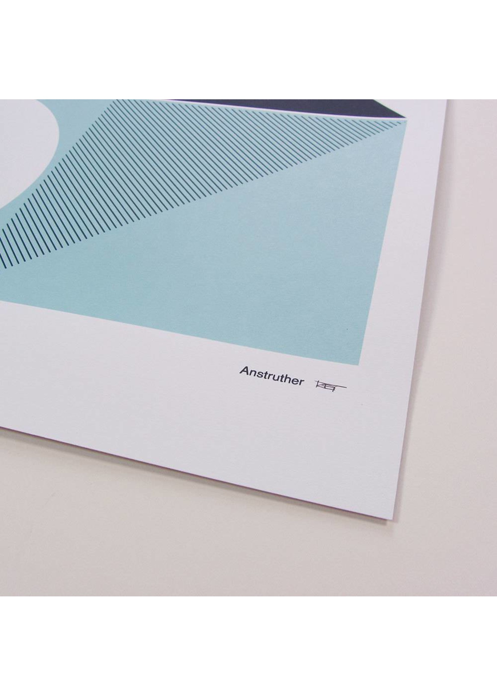 Tom Pigeon Tom Pigeon 'Anstruther' Print - A2