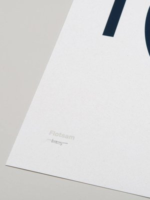 Tom Pigeon Tom Pigeon 'Flotsam' Shipwreck A2 Print