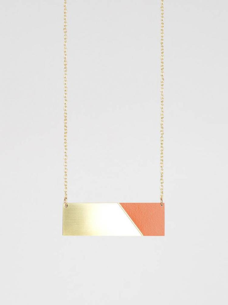 Tom Pigeon Tom Pigeon Form Necklace Bar