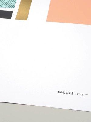 Tom Pigeon 'Harbour 2' Print - A2